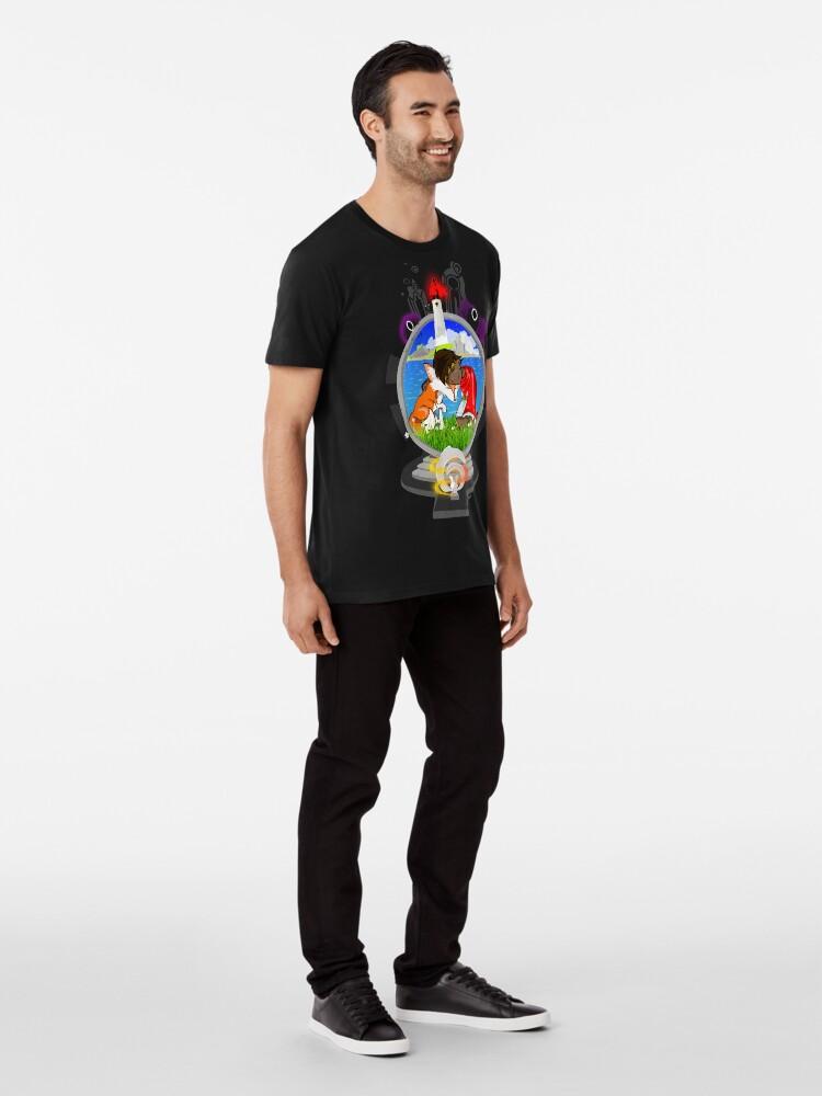 Vista alternativa de Camiseta premium Rime