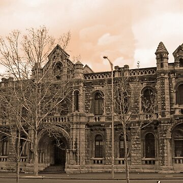 Old Melbourne Court House by Ramace