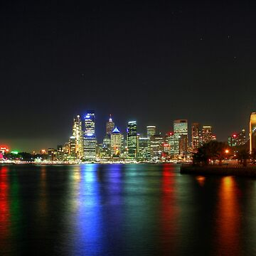 Sydney At Night - HDR by BryanFreeman