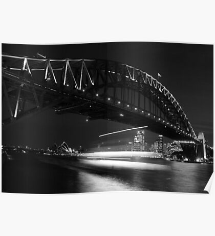 Ghost Ship - Sydney - Australia Poster
