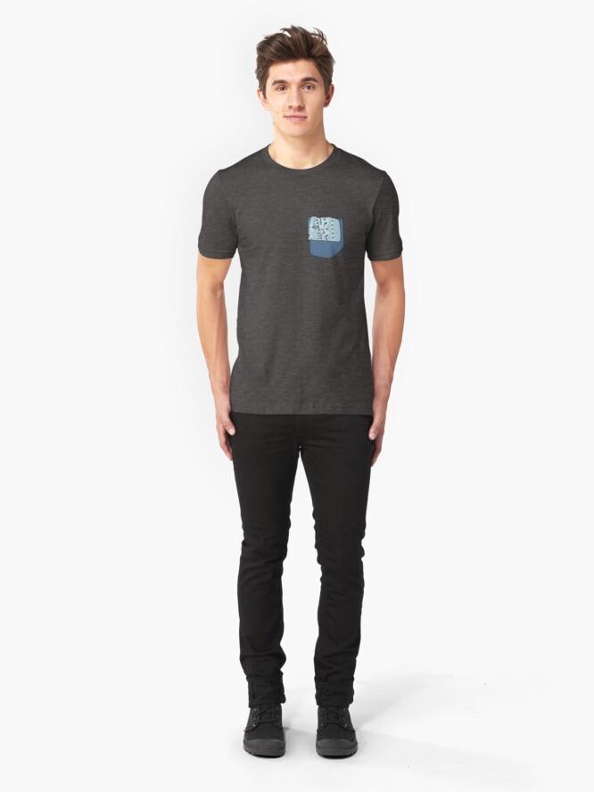 Alternate view of Hanky Code - Oral Slim Fit T-Shirt
