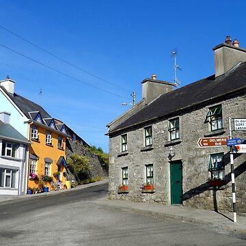Crossroads at Kinvara by Irish-Nostalgia