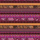 AFRICAN PATTERN by BeHappyBeYou