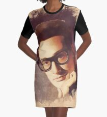 Buddy Holly, Music Legend Graphic T-Shirt Dress