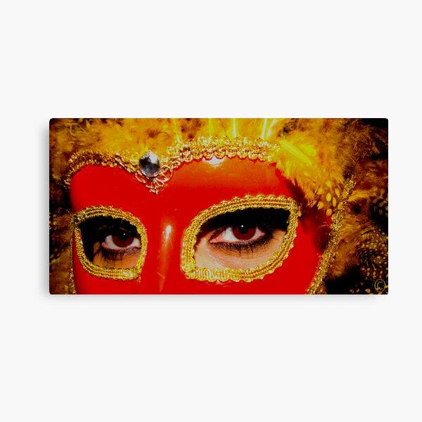 Mysterious Masquerade Canvas Print
