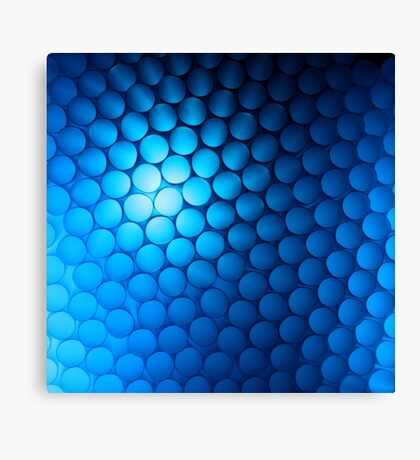 Just Blue Canvas Print