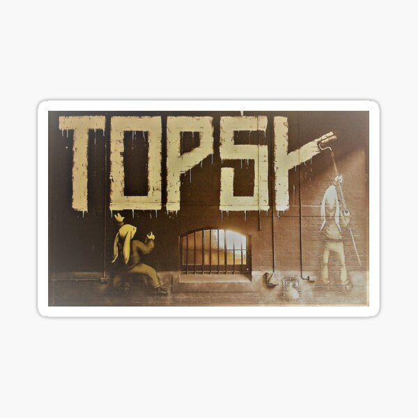 Topsk by the hares Sticker