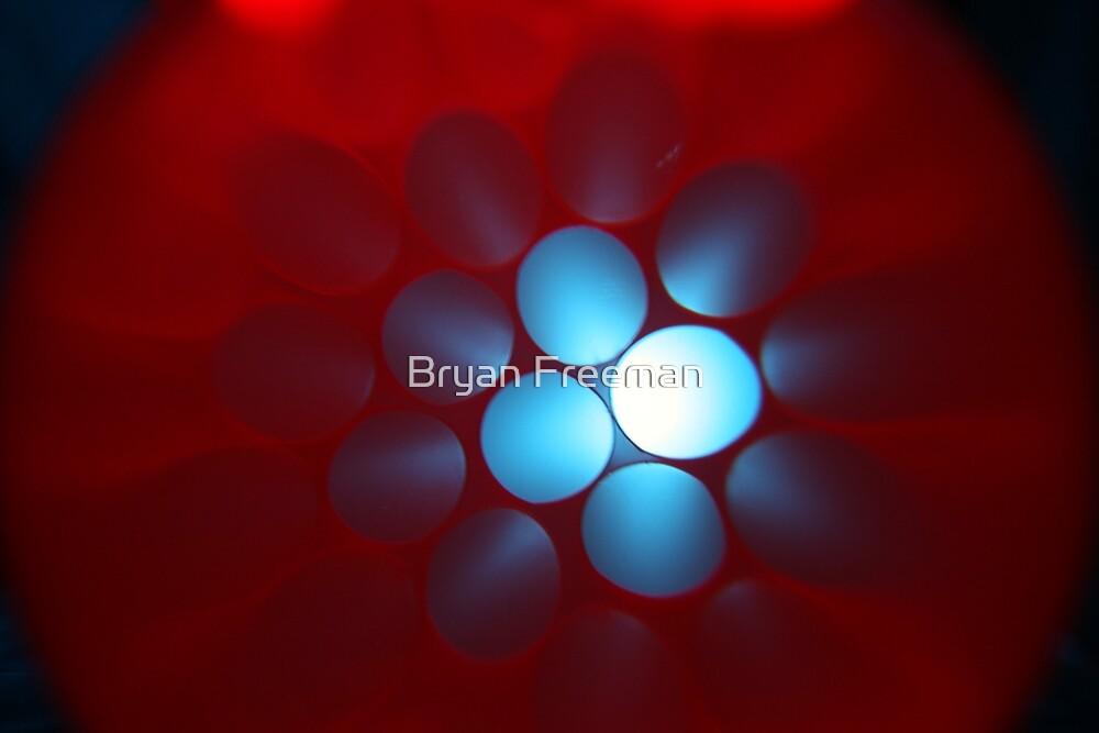 Blue Sky Through The Dust by Bryan Freeman