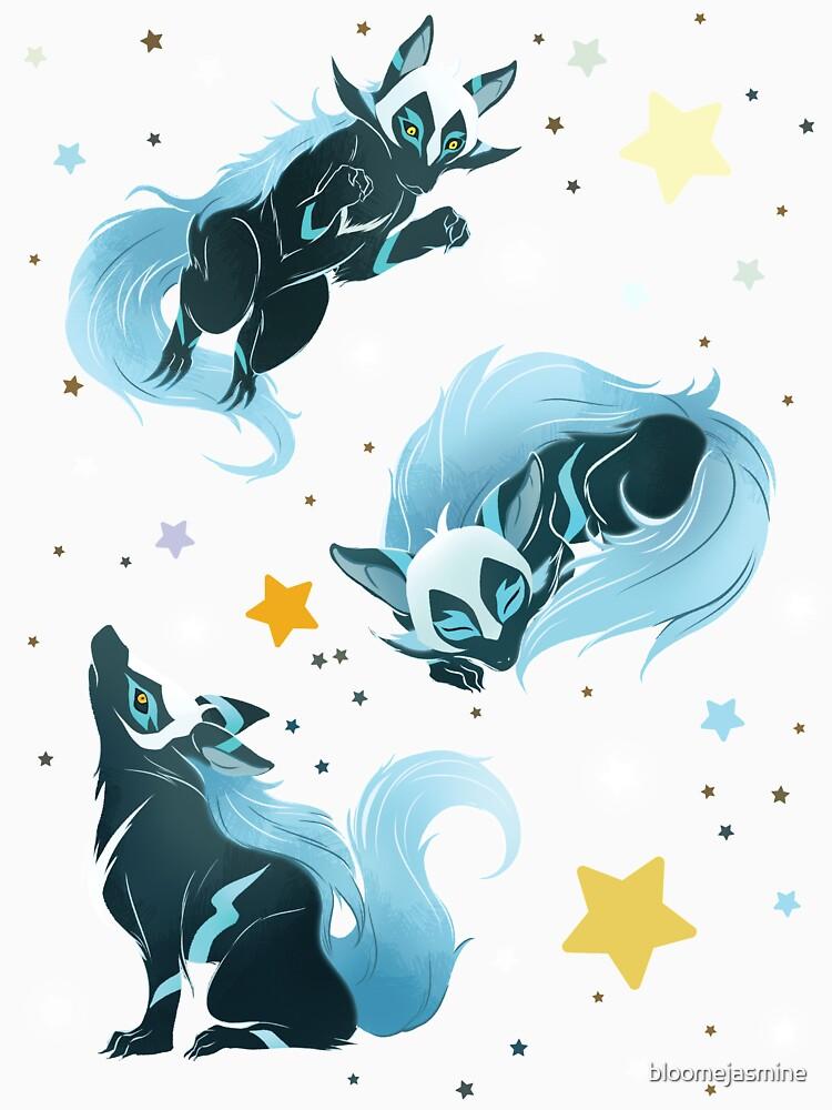 Kosmischer Wolf von bloomejasmine