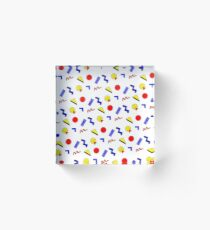 emma chamberlain inspired design Acrylic Block