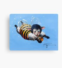 Bumble Baaa Canvas Print