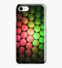 Red & Green Should Never Be Seen - Abstract iPhone Case/Skin