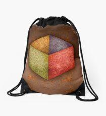 Steel Box, Open Top RGB Drawstring Bag