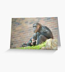 Life Is Like A Monkey Greeting Card