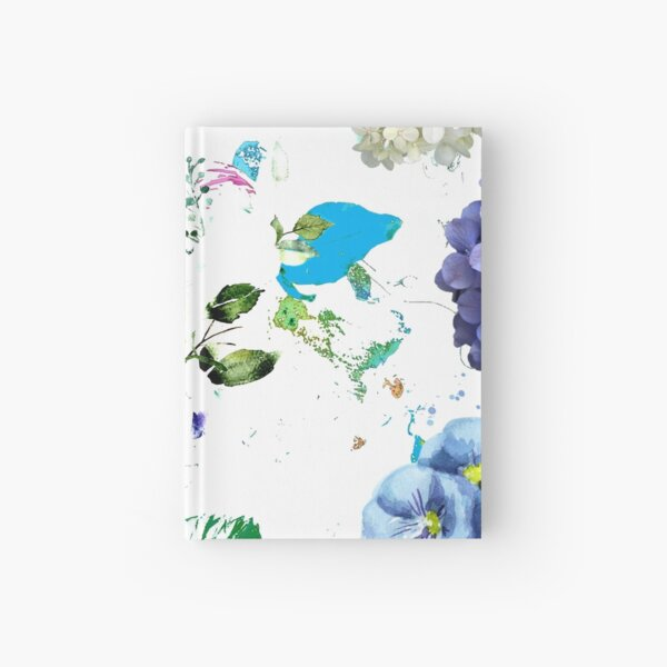 Hazel Blue by hyndussidart Hardcover Journal