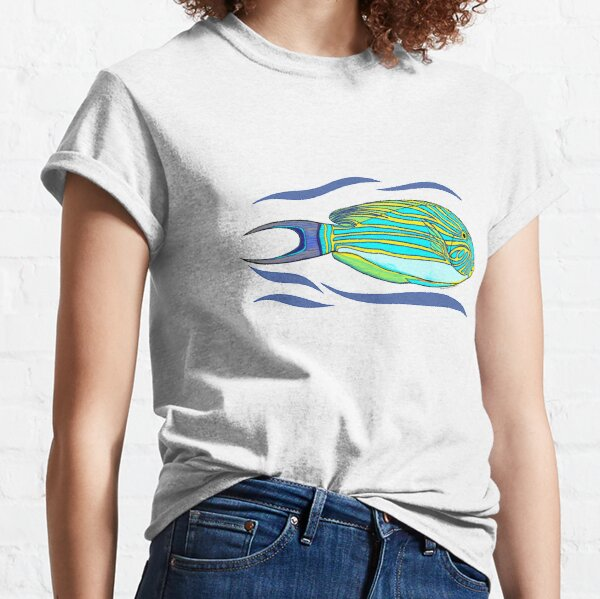 Striped Surgeonfish Classic T-Shirt