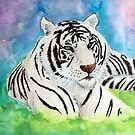 White Tiger Spirit Animal by DragnflyRose