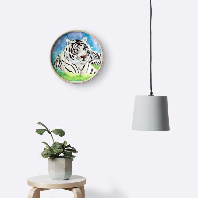 Weißes Tiger-Geist-Tier von DragnflyRose