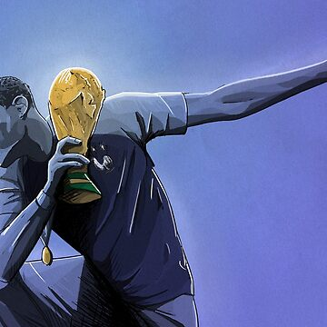 Paul Pogba - France World Cup 2018 by barrymasterson
