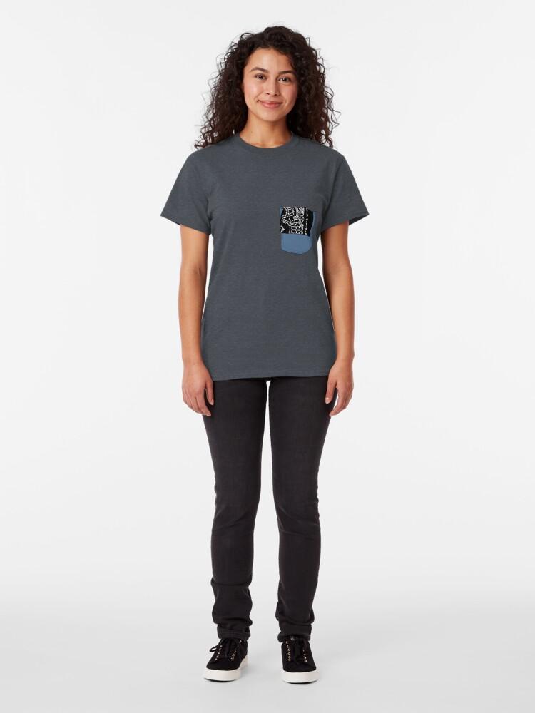 Alternate view of Hanky Code - S&M Classic T-Shirt