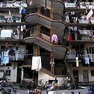 Police Apartments - North Chengdu Rd - Shanghai, China by John Meckley