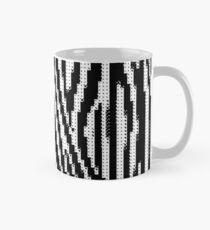 Zebra Glitch Tasse