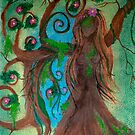 Untamed Dryad by DragnflyRose