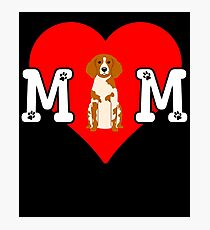 Epagneul Breton Mom - Gift For Epagneul Breton Mom Dog Owner Photographic Print