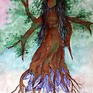 Dryad on Amethyst by DragnflyRose