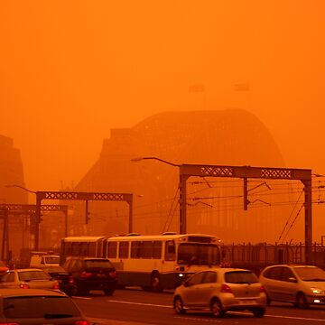 The Red Centre Comes To The Sydney Harbour Bridge by BryanFreeman