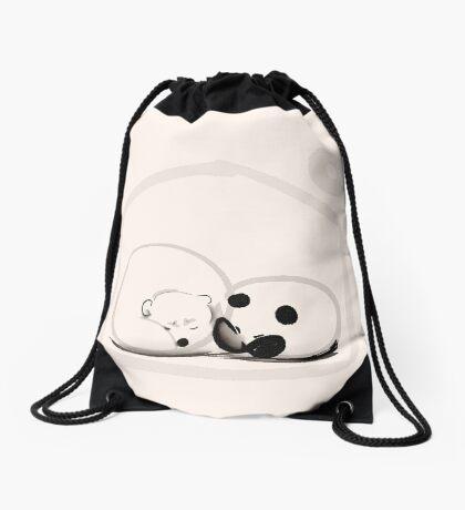 Moon And You Drawstring Bag