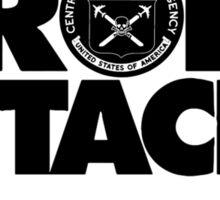 Protest Drone Attacks Sticker