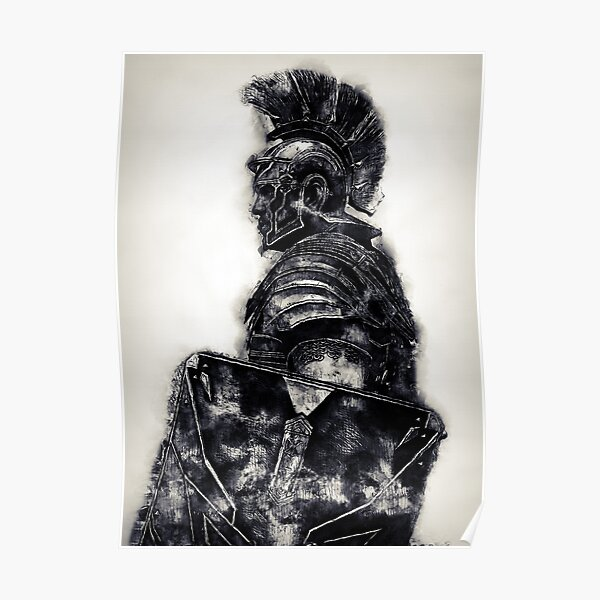 Roman Legionary Poster