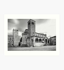 The Old Church Art Print