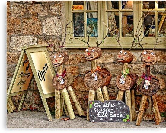 Reindeer For Sale by Susie Peek