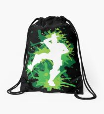 Gaming - L Dance Move - Green Drawstring Bag
