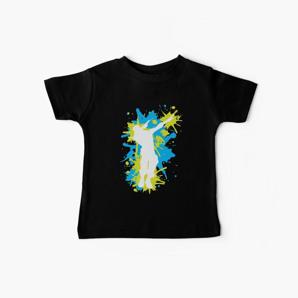 Gaming - Dabbing Dance - Blau / Gelb Baby T-Shirt