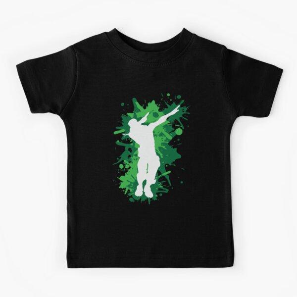 Dab Dance - Green Kids T-Shirt