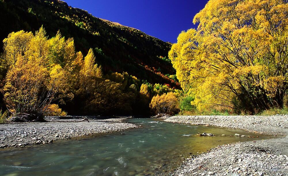 Autumn colours, Arrowtown by Paul Mercer