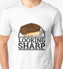 Low Poly Hedgehog - Looking Sharp Unisex T-Shirt