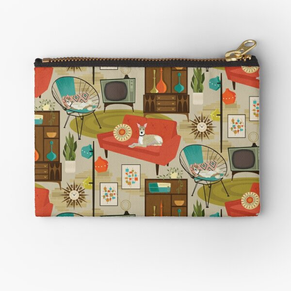 rec room madness Zipper Pouch