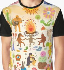 Gran escaofrio Camiseta gráfica