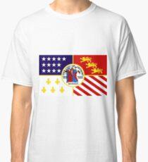 Flag of Detroit (1976–2000)   United States Classic T-Shirt