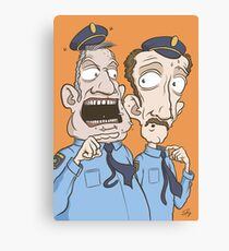 Someone's in trouble Canvas Print