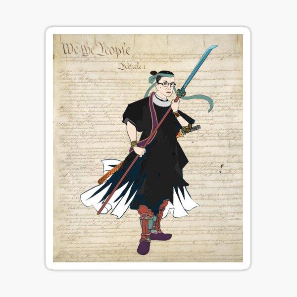 Warrior Supreme! Sticker