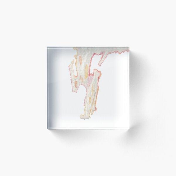 shape of abstract 1 Acrylic Block
