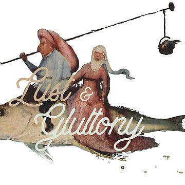Lust & Gluttony by Eurozerozero