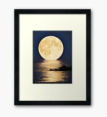 Supermoon 2016 Framed Print