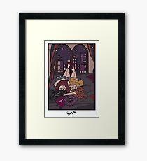 LEBANESE LESBIANESE Framed Print