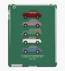 Morris Minor 70th Anniversary Classic Car Collection Artwork iPad Case/Skin